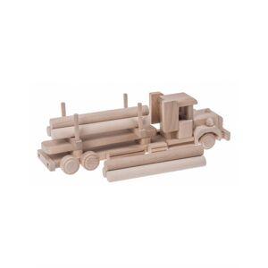 FK Dřevěný kamion s nákladem