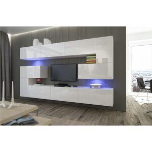Anral Obývací stěna Simba 8 - Bílý lesk