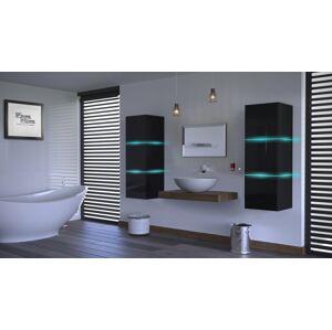 Anral Koupelnová stěna Ali 23 - Černý lesk