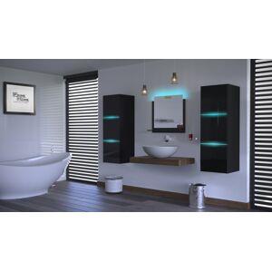 Anral Koupelnová stěna Ali 36 - Černý lesk