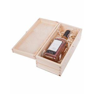 Dřevěná krabička - na alkohol