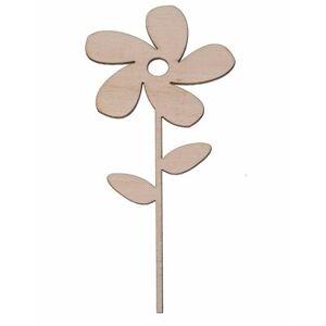 FK Dřevěná ozdoba (květina) - 15x7 cm