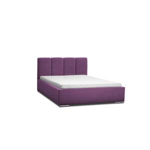 Eka Čalouněná postel Cassandra 180x200 cm Barva látky Casablanca: Fialová (11)
