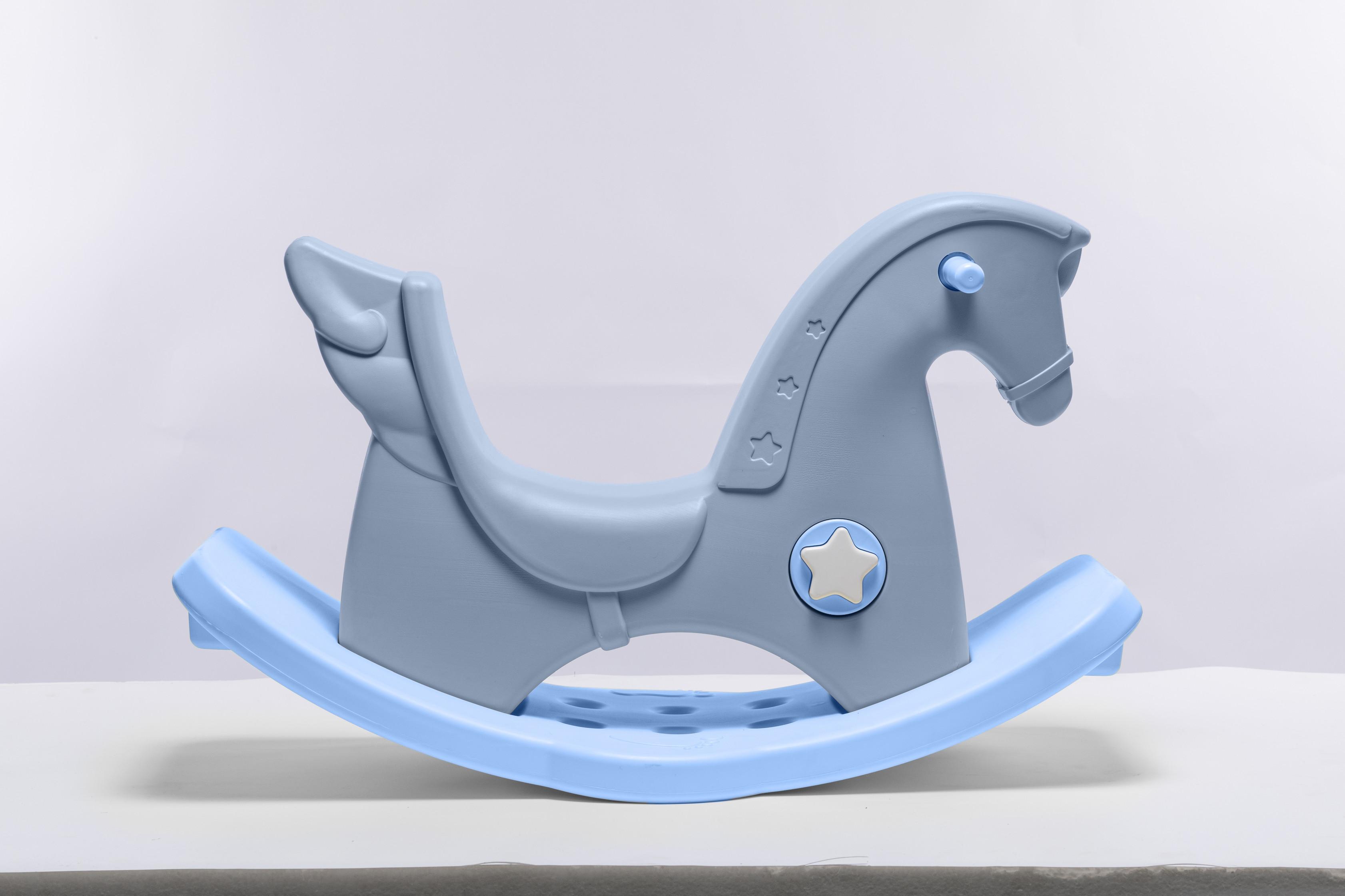 PUPYhou Dětský houpací koník - Modrý