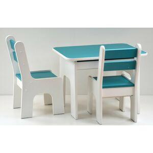 Stůl a dvě židličky K2 ocean