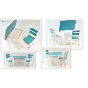 Stůl a dvě židličky K3 ocean