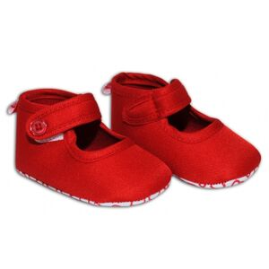 Bobobiz Balerínky/capáčky - červené R15 Věk dítěte: 3 - 6 měsíců