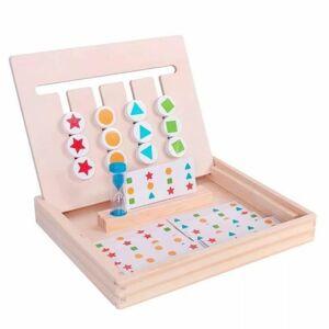 Babycom Vzdělávací tabulka pro děti - Poznej tvary hrou