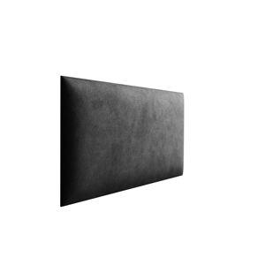 Eka Čalouněný panel Trinity 40x30x3,5 cm Barva látky Velutto: Tmavá šedá (19)