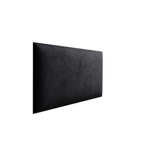 Eka Čalouněný panel Trinity 40x30x3,5 cm Barva látky Velutto: Černá (20)