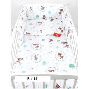 Babylux Souprava do postýlka 3 - díly - bambi