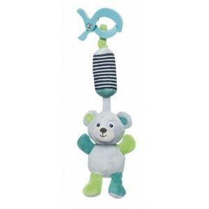 Canpol babies Plyšová hračka s klipem MEDVÍDCI šedá