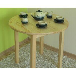Dede Stůl z masivu borovice 60 cm
