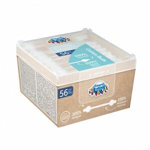 Canpol babies Vatové tyčinky s omezovačem papírové 56ks