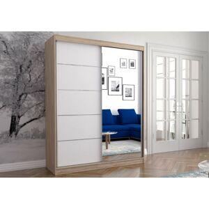 IDZ Šatní skříň Neomi 05 (150 cm) Barva dřeva: Sonoma + Bílá