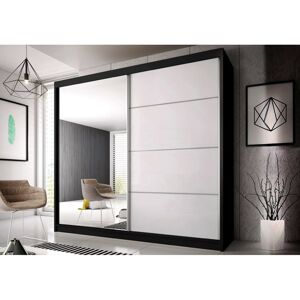 IDZ Šatní skříň Multi 35 (233 cm) Barva dřeva: Černá