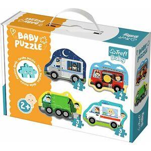 Dětské puzzle pro nejmenší - autíčka