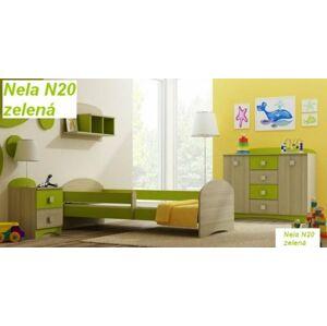 Almers Postel Nela N20 180/90 cm + matrace zelená